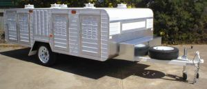 large 6 berth wardrobe trailer