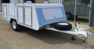 premium large 4 berth wardrobe single axle