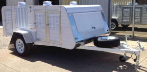premium medium 4 berth wardrobe trailer
